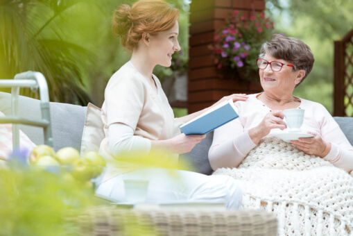 Ways to Help Seniors Stay Positive